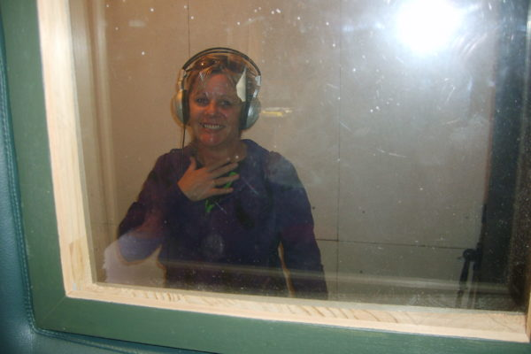 Sharon in Studio